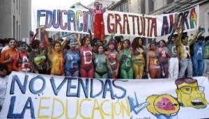 protestas estudiantiles chilenas