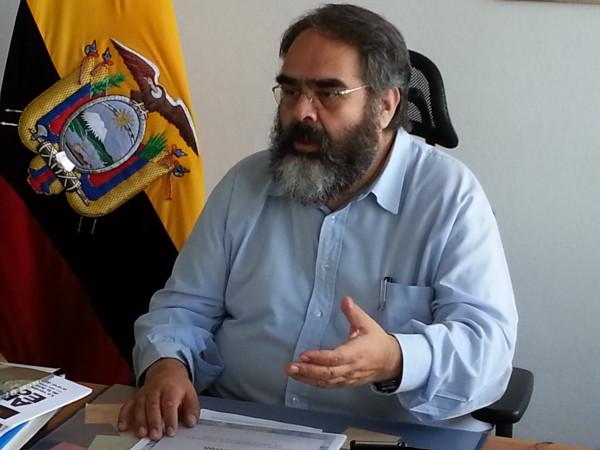 Jorge Jurado, Embaixador do Equador na Alemanha. Fonte: Wikipedia | Foto: Tobias Baumann