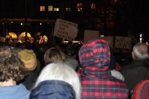 Anti-Pegida-Demonstranten