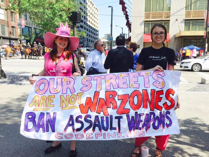 Codepink protest Cleveland