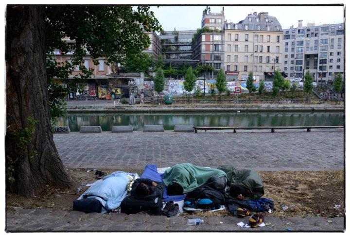 France terre d'Asile ? Dormir par terre