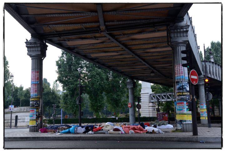 France Terre d'Asile ? Refuge viaduc du metro
