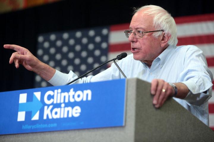 """""""Sanders revela um lado de resistência norte-americana, sem dúvida nenhuma, e que pode ganhar força durante o governo Trump"""", diz o professor. Foto: Flickr/Gage Skidmore."""