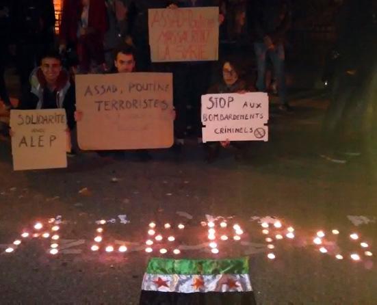 Solidarité avec Alep
