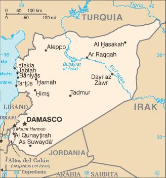 Siria: cuadro de situación