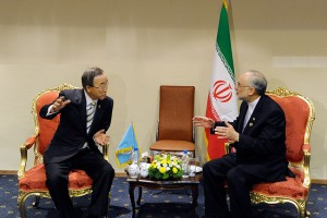 UN Chief Condemns in Iran 'Threats by Any Member State to Destroy Another'