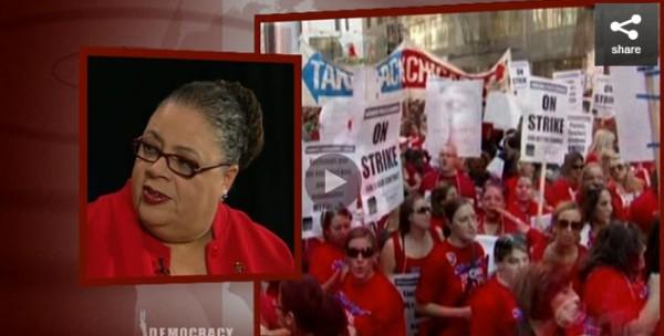 Chicago Teachers Union President Karen Lewis: Deal Ending Strike a Victory for Education
