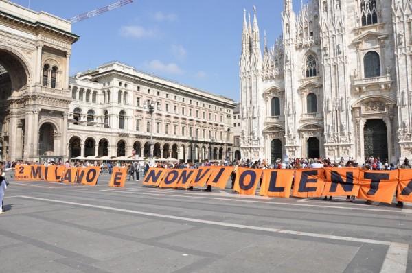 Milano è nonviolenta
