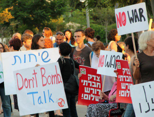 Israelis Protest Government's War Drums against Iran