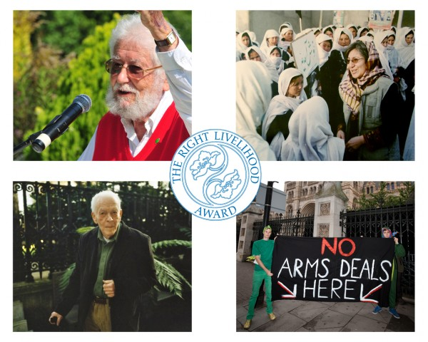 2012 Right Livelihood Awards go to UK, US, Afghanistan and Turkey