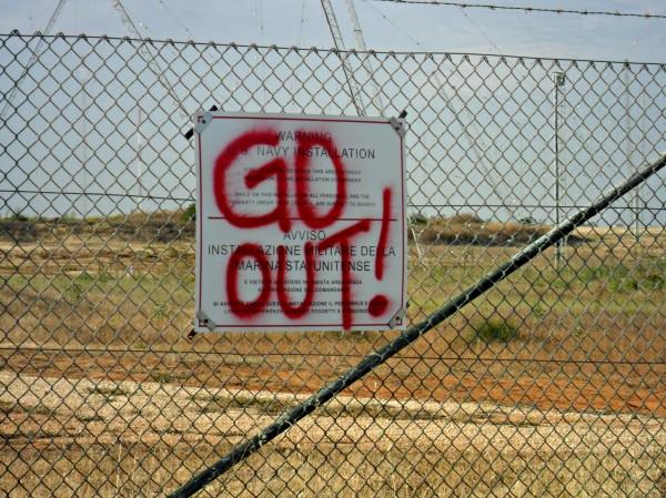 Mozione contro l'installazione del MUOS in consiglio regionale siciliano