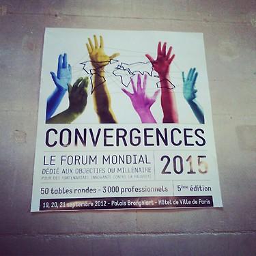 Convergences 2015 y el Foro Mundial del Agua
