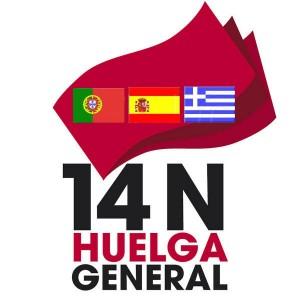 14N Primera convocatoria de huelga general europea