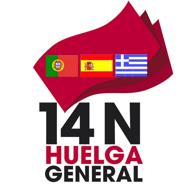 14N Primera convocatoria de huelga general europea