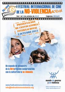 Se convoca el I Festival Internacional de Cine de la No-Violencia Activa