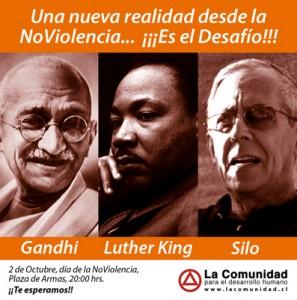 Journée Internationale de la Nonviolence