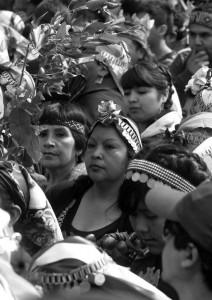 Chile: miles de personas protestan por reivindicaciones del pueblo mapuche