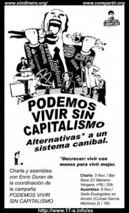 Enric Duran: «La autogestión genera empoderamiento»