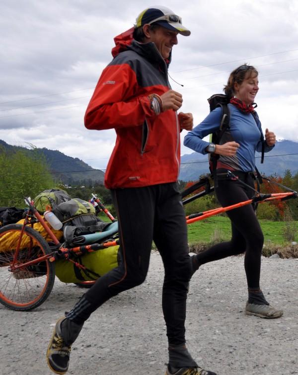 Wildy running through South America