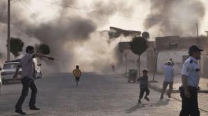 Turquía respondió a las granadas lanzadas desde Siria