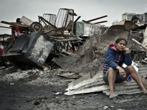 Mais uma favela destruída por incêndio em São Paulo