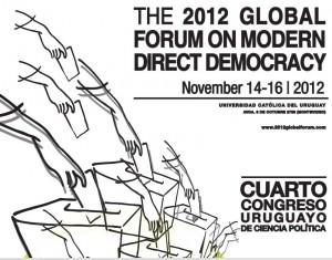 Foro Democracia Directa: El poder popular va hacia el Sur.