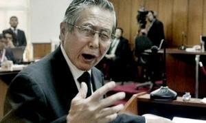 Cientos de peruanos marcharon contra un posible indulto a favor de Fujimori