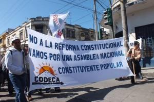 Indigenas y campesinos demandan una asamblea constituyente popular en Guatemala