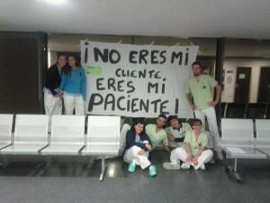 La sanità madrilena in sciopero