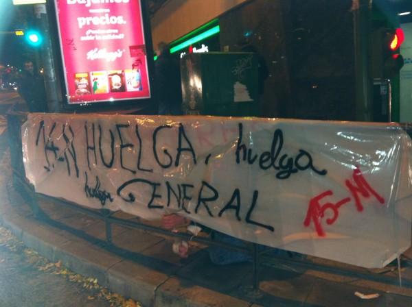 14N, huelga general en España: ¡No trabajes, no consumas, participa y movilízate!