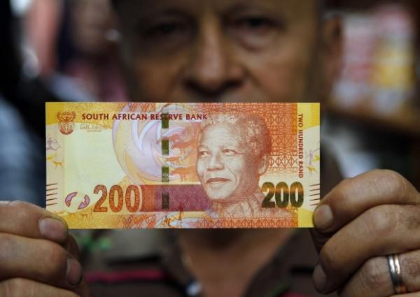 Le banconote di Mandela