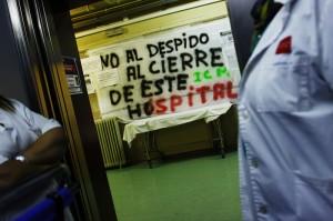 Así se cierra un hospital en la Comunidad de Madrid