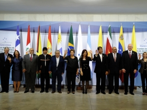 Dilma cita Niemeyer em evento do Mercosul e diz que, sem sonhar, nada acontece