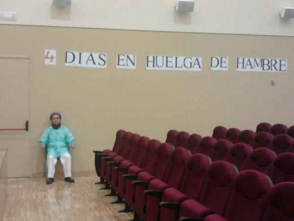 Madrid, 4ème jour de grève de la faim à l'Hôpital de la Princesa