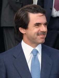 José María Aznar fue repudiado en su paso por Málaga