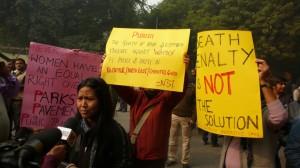 Protestations contre le viol à Jantar Mantar