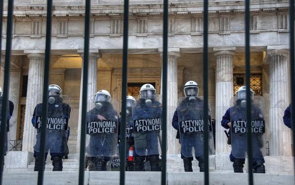 Protest, repression and nonviolence in Greece