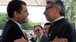Lugo y Correa se reunirán para analizar situación regional