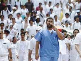 Quarta giornata di sciopero della sanità pubblica madrilena