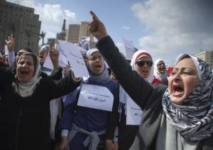 Egypte : des milliers de personnes protestent contre le référendum constitutionnel