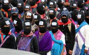 """Zapatistas se movilizan nuevamente: """"¿Escucharon? Es el sonido de su mundo derrumbándose. Es el del nuestro resurgiendo"""""""
