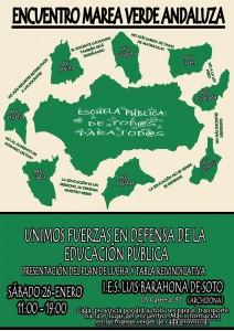 ¡Tenemos un plan! Encuentro – Asamblea Marea Verde Andaluza