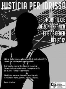 Un año después de la muerte de Idrissa Diallo en el CIE de Zona Franca, la situación en los CIE apenas ha cambiado