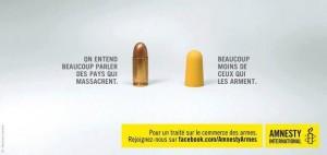 Campagne pour l'adoption d'un traité international sur le commerce des armes