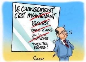 France, ''Mon véritable adversaire, c'est le monde de la finance''.