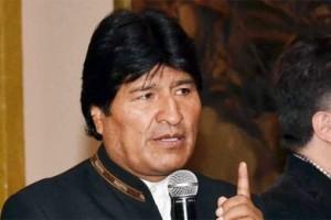 Evo Morales en la Cumbre de los Pueblos