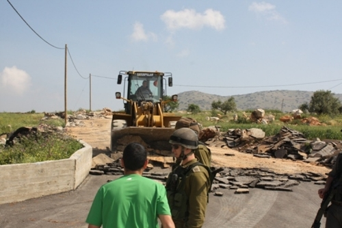 Israeli Occupation Demolishes Palestinian Houses, Structures in Hebron