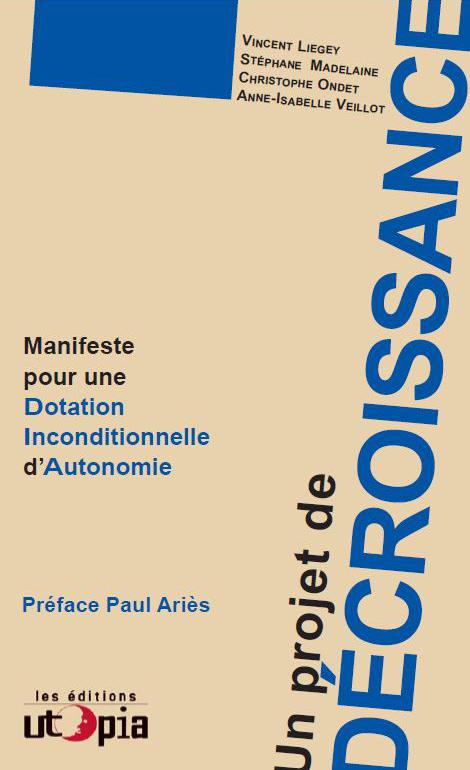 Paris, Lancement du livre Un projet de Décroissance le samedi 26 janvier 2013