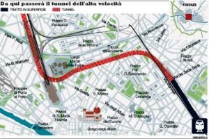Firenze: il PD resuscita i tunnel TAV?