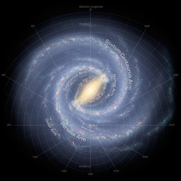 Galáxia pode ter 17 bilhões de 'Terras', diz estudo